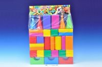 Kostky velké 30ks plast v sáčku
