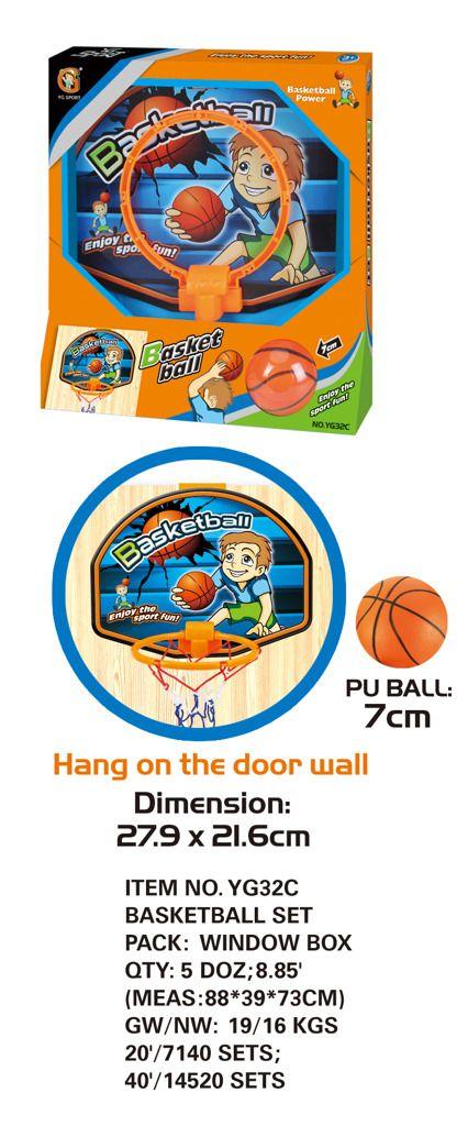 Basketball s míčem Alltoys