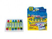 Fixy na textil vodě odolné 6ks v krabičce SMT Creatoys