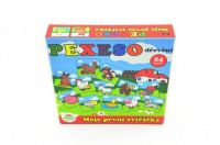Pexeso Moje první zvířátka dřevěné 24 dílků pro nejmenší v krabičce 19,5x19,5x3,5cm od 12 měsíců Teddies