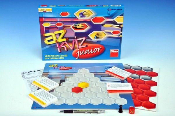 AZ kvíz junior společenská hra v krabici Dino