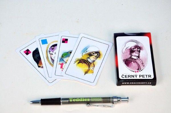 Černý Petr společenská hra karty v papírové krabičce Hrací karty, s.r.o.