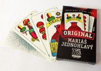 Mariáš jednohlavý společenská hra karty v papírové krabičce Hrací karty, s.r.o.