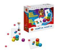 Paměť 3D společenská hra v krabici 20x18,5x5,5cm PEXI