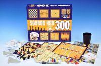 Soubor her 300 společenská hra v krabici 36,5x32x7,5cm