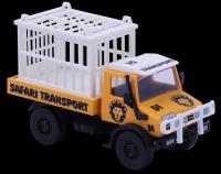 Stavebnice Monti 51 Safari-Mercedes Unimog v krabici 22x15x6cm SEVA