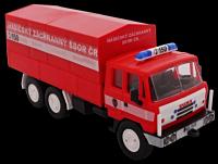 Stavebnice Monti 74 Tatra 815 hasiči ČR 1:48 v krabici 22x15x6cm SEVA
