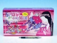 Stavebnice Seva pro dívky MIDI 1 plast 193ks v krabici 31,5x16,5x7,5cm