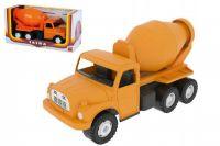 Auto Tatra 148 plast 30cm míchačka oranžová v krabici