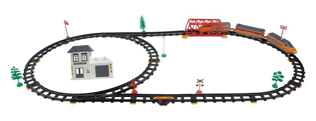 Vlaková sada Express, vláčky, vláčkodráhy Alltoys