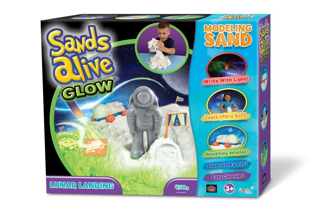 Sands Alive! - set Přistání na měsíci Alltoys