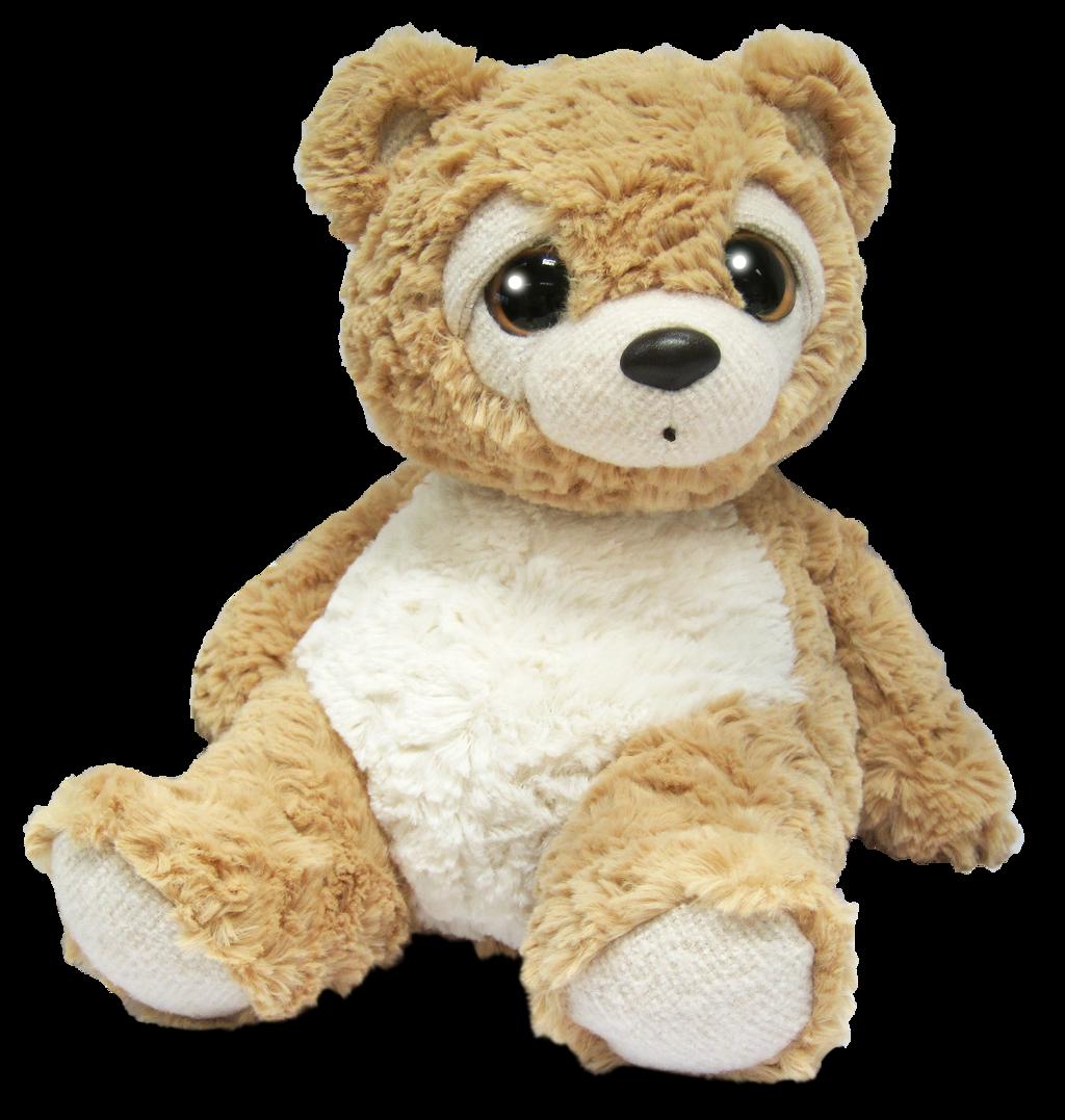 Medvídek plyšový béžový 28 cm, plyš Alltoys