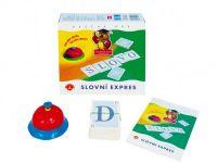 Slovní expres společenská hra v krabici 19,5x18,5x5cm PEXI