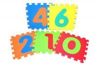Pěnové puzzle Číslice 30x30cm Wiky