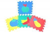 Pěnové puzzle Ovoce 30x30cm asst 2 druhy 10ks v sáčku Wiky