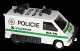 Stavebnice Monti 27 Policie Renault Trafic 1:35 v krabici 22x15x6cm SEVA