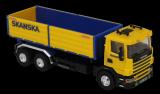 Stavebnice Monti 67 Scania Skanska 1:48 v krabici 32x20,5x7,5cm Beneš a Lát