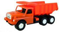 Auto Tatra 148 plast 73cm v krabici - oranžová Dino