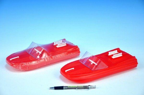 Motorový člun/loď plast 25cm hračka do vody Směr