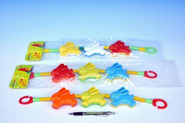 Řetěz medvěd zajíc plast 43cm v sáčku od 0 měsíců Profibaby