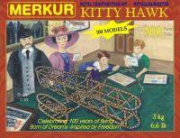 Stavebnice MERKUR Kitty Hawk 100 modelů 900ks v krabici