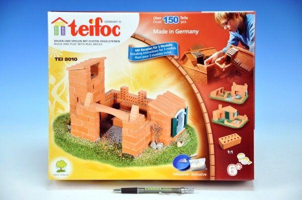 Stavebnice Teifoc Domek Roberto 150ks v krabici 35x29x8cm Směr