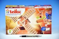 Stavebnice Teifoc Větrný mlýn v krabici 29x18x8cm Směr