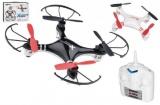 Wiky Dron RC plast 15cm na baterie + USB kabel pro dobíjení asst 2 barvy v krabici