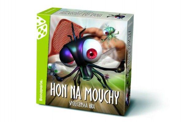 Hon na mouchy Bonaparte polečenská hra v krabici 26x26x7cm