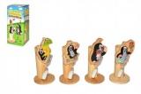 Stojánek na kartáček Krtek dřevo asst 4 druhy v krabičce Wiky