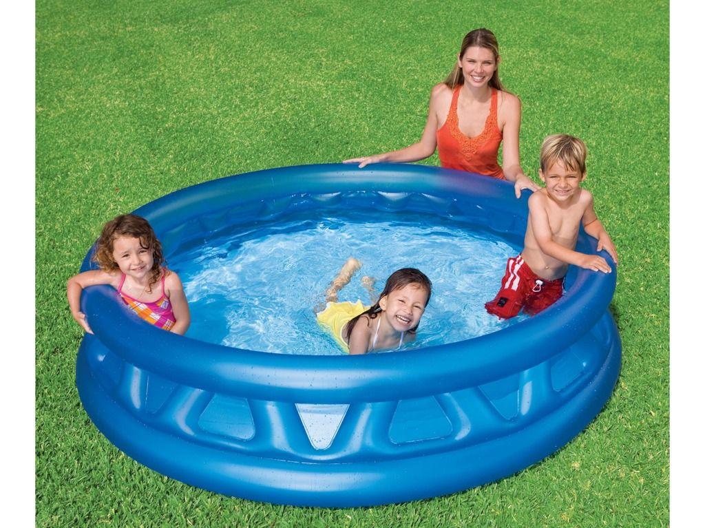 Bazén soft side 188x46cm Intex
