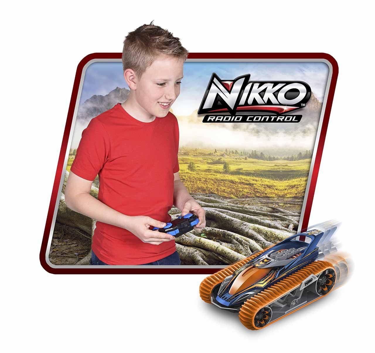 NIKKO VelociTrax RC pásové vozidlo oranžové