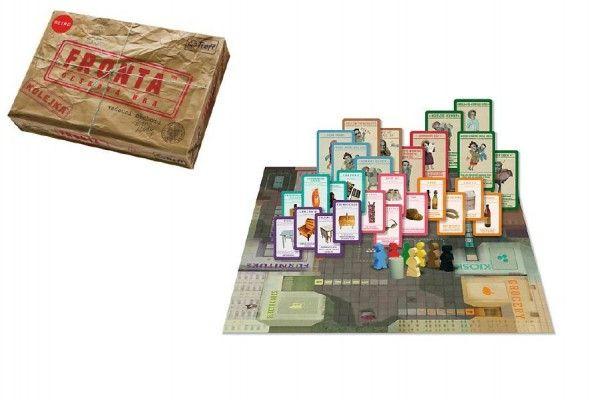 Fronta - Čekání ve frontě společenská hra v krabici 36x25x6cm Trefl