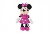 Minnie růžové šaty plyš 23cm 0m+
