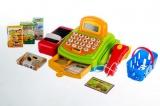 Pokladna digitální plast 30cm s doplňky na baterie dětská pokladna Teddies