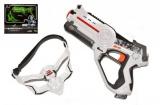 Territory laser game - single set (1 pistole, 1 maska) plast asst 2 barvy v krabici