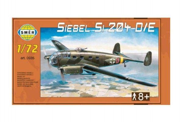 Model Siebel Si 204 D/E 1:72 29,5x16,6cm v krabici 34x19x5,5cm Směr