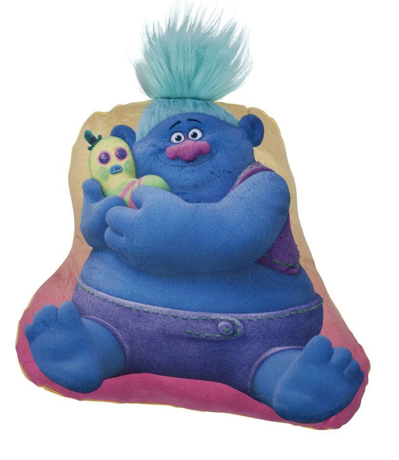 Polštářek ve tvaru Trollů Biggie