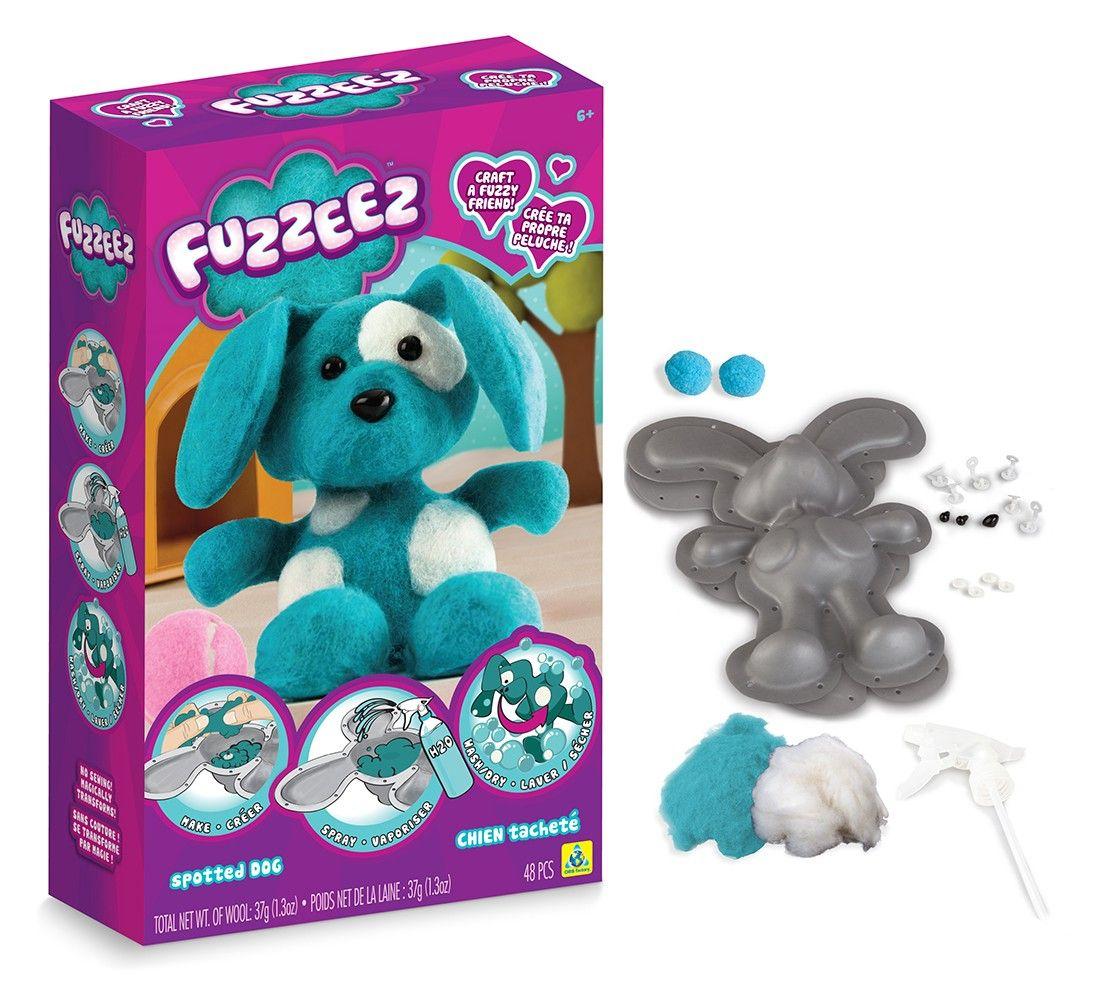 Výroba pejska Fuzzeez The ORB Factory kreativní hračka