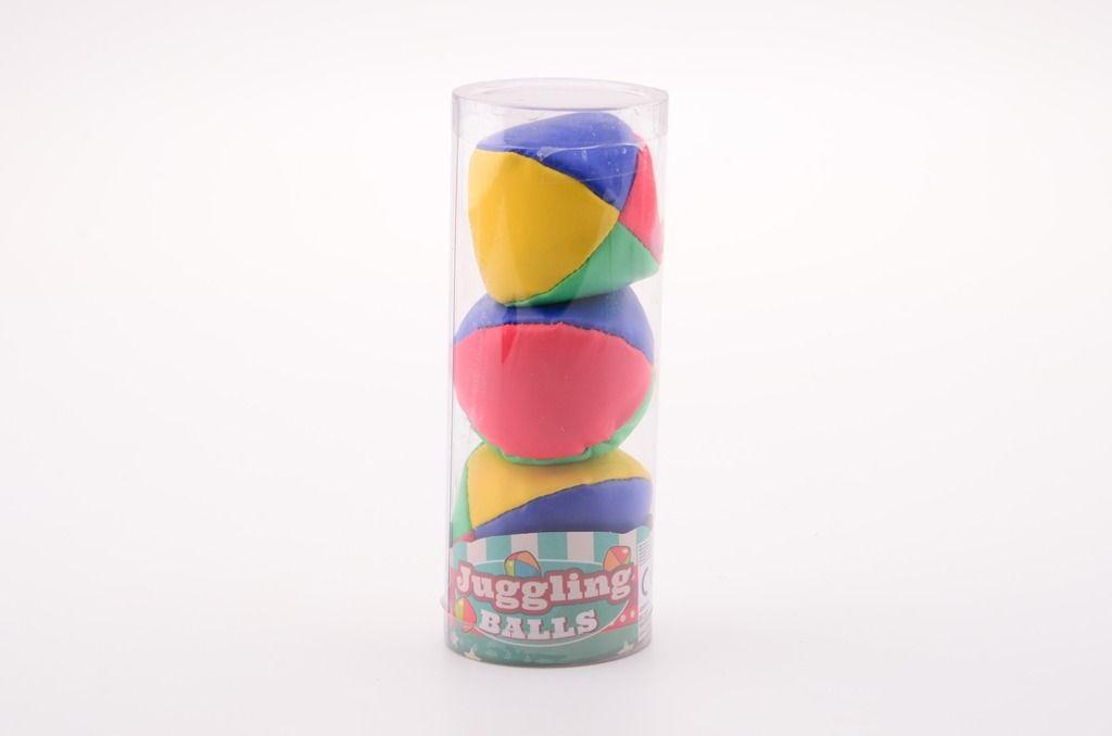 Žonglovací míčky sada 3 ks Johntoys