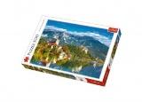 Puzzle Bled, Slovinsko 500 dílků 48x34cm v krabici 39,5x26,5x4,5cm