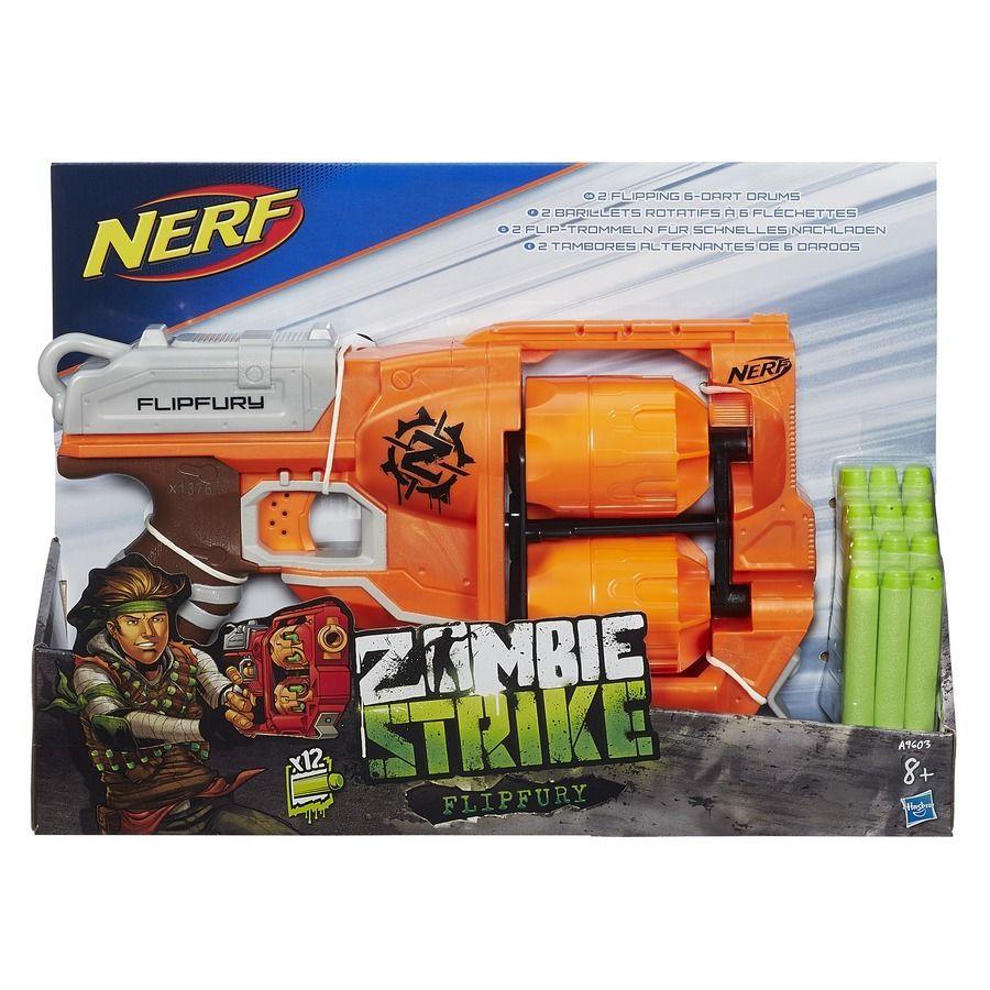 NERF Zombie s 2 bubny Hasbro