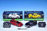 Auto RC Racing Style plast 17cm na vysílačku na baterie asst 6 druhů v krabici