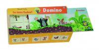 Domino Krtek dřevo společenská hra 28 dílků v dřevěné krabičce Detoa