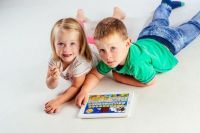 Krtkův naučný tablet pro nejmenší , tablet, hračka, tablet pro děti Teddies