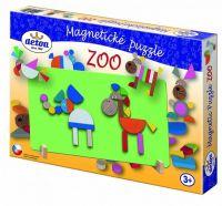 Magnetické puzzle ZOO v krabici 33x23x3,5cm Detoa