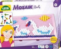 Mozaika pro holky klobouček 1cm 200ks v krabici Lena