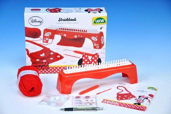 Pletací stůl Minnie + pletení v krabici Lena