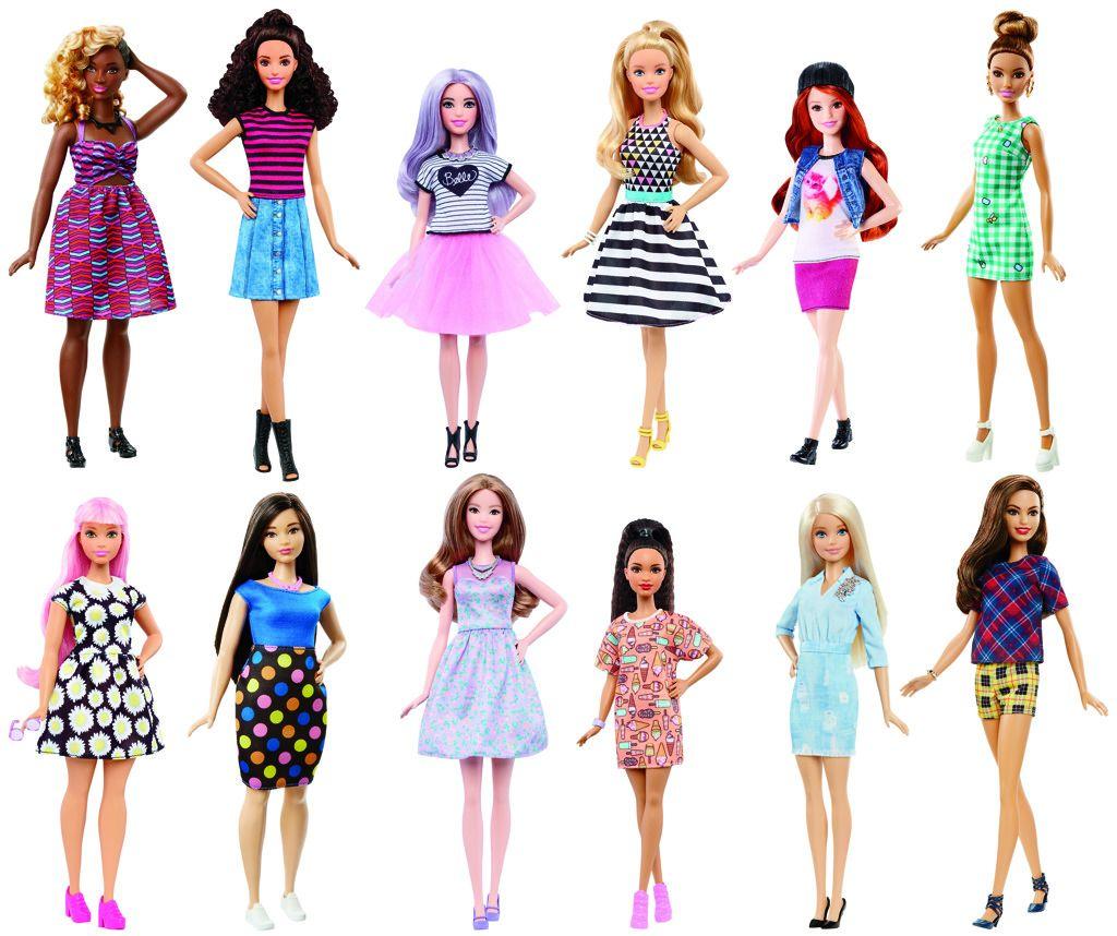 Barbie modelka Mattel