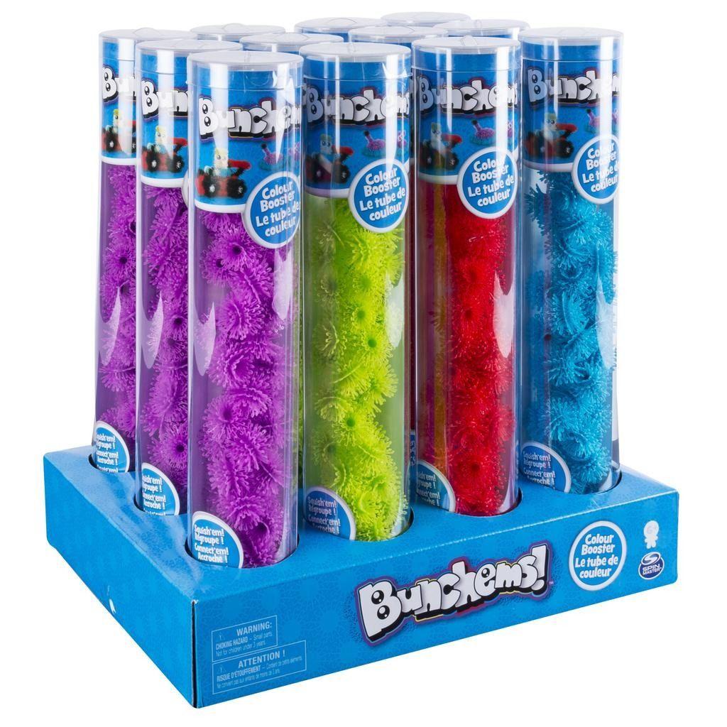 Bunchems tuby samostatných barev a doplňku Spin Master
